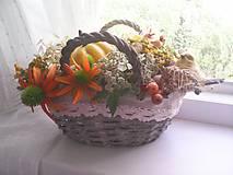 """Dekorácie - Dekorácia """"...slnko v košíku..."""" - 8526931_"""