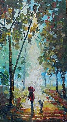 Obrazy - Cesta do lesa - 8526606_