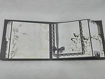 """Papiernictvo - Svadobný fotoalbum elegantný """"Romantik"""" - 8525125_"""