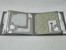 """Papiernictvo - Svadobný fotoalbum elegantný """"Romantik"""" - 8525127_"""