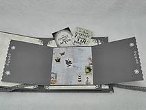 """Papiernictvo - Svadobný fotoalbum elegantný """"Romantik"""" - 8525128_"""