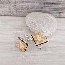 """Šperky - Manžetové gombíky """"Šťastie"""" - 8524306_"""
