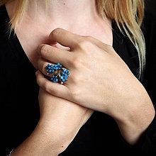 Prstene - Prsten nezábudky - 8526099_