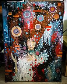 Obrazy - Miss Hope - Obraz maľovaný akrylom - 8525401_