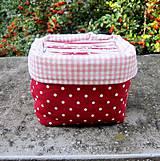 Hračky - Ovocie a zelenina - textilné pexeso - 8526017_
