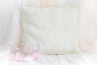 """Textil - Detský Vankúšik ,,Classic Royal"""" , OEKO-TEX®100 - Smotanový - 8527504_"""