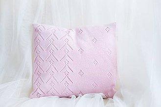 """Textil - Detský Vankúšik ,,Classic Royal"""" , OEKO-TEX®100 - Ružový - 8527579_"""