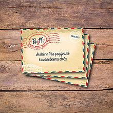 Papiernictvo - Travel - pozvánka ku stolu - 8529833_