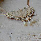 Náhrdelníky - Baroque Angels - sutaškový náhrdelník - 8529184_