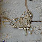 Náhrdelníky - Baroque Angels - sutaškový náhrdelník - 8529186_