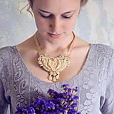 Náhrdelníky - Baroque Angels - sutaškový náhrdelník - 8529188_