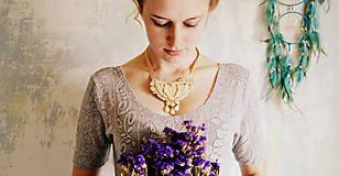 Náhrdelníky - Baroque Angels - sutaškový náhrdelník - 8529190_