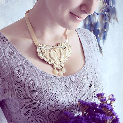 Baroque Angels - sutaškový náhrdelník