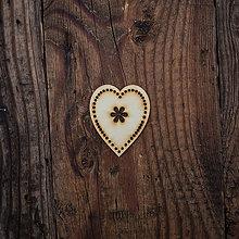 Dekorácie - Drevené srdce 4 - 8527457_