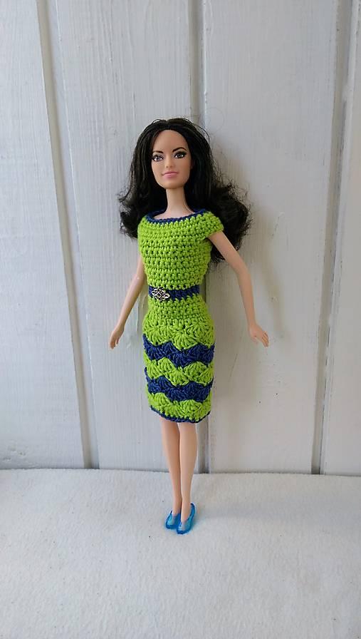 85d71ea044fc Háčkované zelenomodré šaty 2 pre Barbie   natalimilusa - SAShE.sk ...