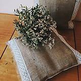 Úžitkový textil - Vankúš juta - 8527916_