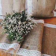 Úžitkový textil - Štóla juta - 8527868_