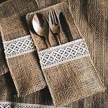 Úžitkový textil - Obal na príbor - 8529055_