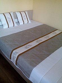 Úžitkový textil - Prehoz na posteľ Nature Beauty - 8528971_
