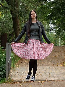 Sukne - Opravdická kolová sukně 8 - 8527252_