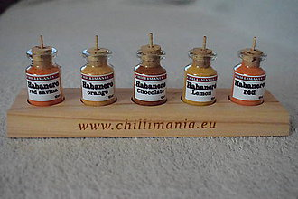 Potraviny - Chilli korenička - Habanero mix - 8528649_