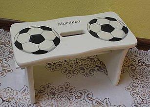 Nábytok - šamlík pre malého futbalistu :) - 8528233_