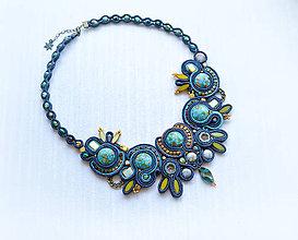 Náhrdelníky - Stone gem - náhrdelník - 8527956_