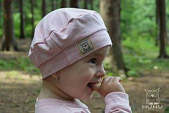 Detské čiapky - Detská baretka - 8529855_