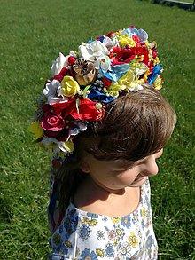 Ozdoby do vlasov - Folklorna svadobna parta - 8527883_
