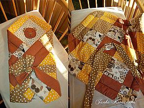 Textil - macko zavinovačka - 8529705_
