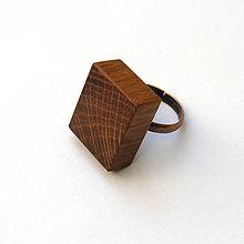 Prstene - Dubový kvádrik - 8528592_