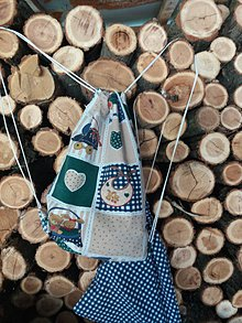 Detské tašky - Vak + vrecúško detský motív - 8531511_