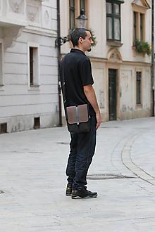 Tašky - Malá taška BROWN - 8530234_