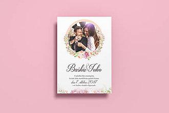Papiernictvo - Svadobné oznámenie / Venček - 8532495_