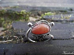 Prstene - Hľadám ťa........(karneol) - 8531867_