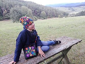 Detské čiapky - Čiapka pre slečnu - Slovenka - 8532757_