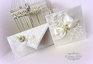 Papiernictvo - Svadobný set \