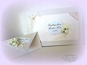 Papiernictvo - Svadobná kolekcia \