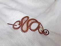 Ozdoby do vlasov - Spona/Brošňa - do vlasov, na sveter - 8535220_