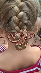 Ozdoby do vlasov - Spona/Brošňa - do vlasov, na sveter - 8535221_