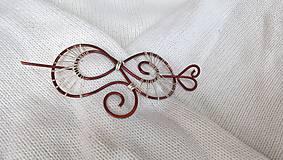 Odznaky/Brošne - Spona/Brošňa - do vlasov, na sveter - 8535295_