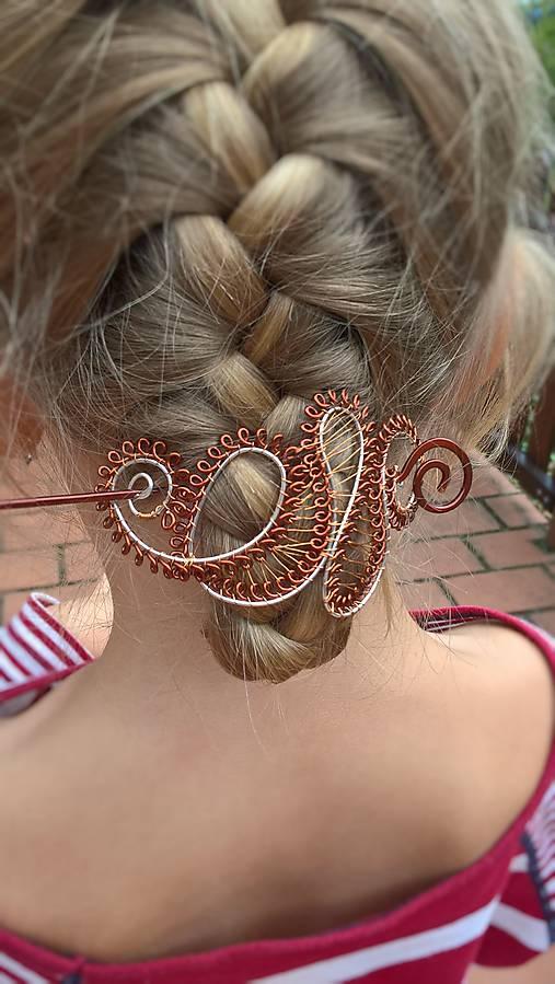 Spona/Brošňa - do vlasov, na sveter