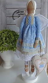 Bábiky - Modrá domčeková - 8536246_