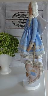 Bábiky - Modrá domčeková - 8536248_