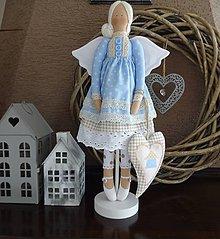 Bábiky - Modrá domčeková - 8536243_
