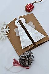 Papiernictvo - Malá vianočná pohľadnica - Anjelik môj - 8536225_