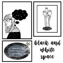 Grafika - Space combo bw - 8535581_