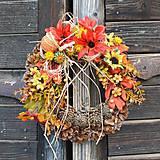 - Jesenný venček na dvere - 8533789_