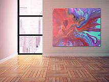 Obrazy - Abstraktný obraz - Fusion - na objednávku - 8535864_