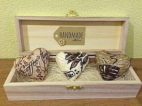 Magnetky - Handmade magnetky pre milovnikov kavy - 8536210_